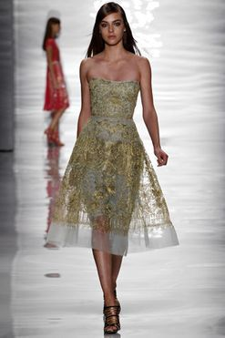 Reem Acra ready-to-wear spring/summer '15