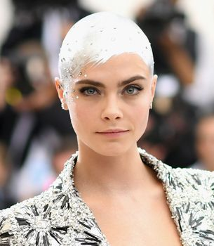 This is how Cara Delevingne's Met Gala look came together