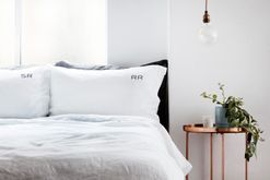 Win one of three sets of personalised linen bedding