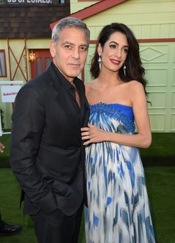 George and Amal Clooney are the kind of parents you want to be on a plane with