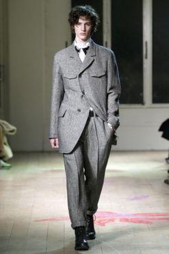 Yohji Yamamoto Menswear Autumn/Winter 2011/12
