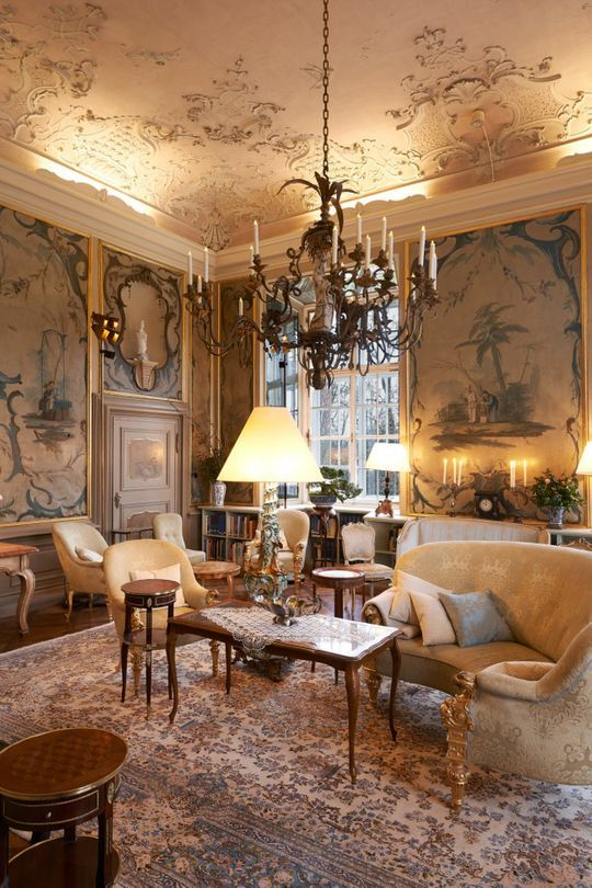Look Inside The Spectacular Rococo Setting Of Chanel S