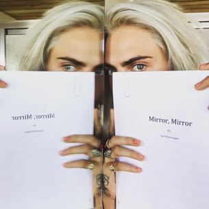 Cara Delevingne has written her first book