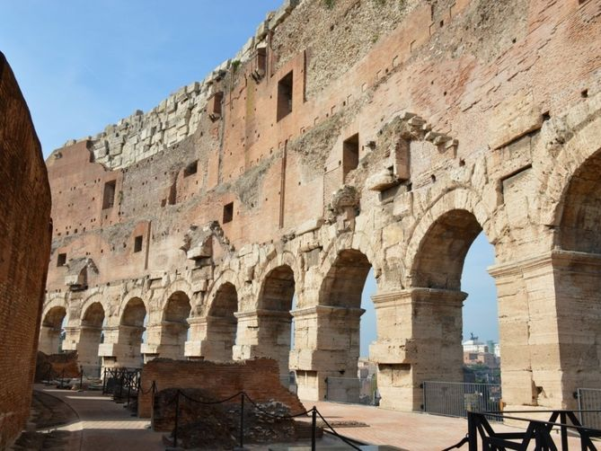Inside the Rome Colosseum's newly restored fifth floor