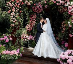 See Miranda Kerr's Grace Kelly-inspired wedding dress