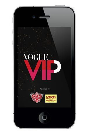 Download Vogue's VIP shopping app for Fashion's Night Out