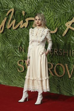 The best of the red carpet from Britain's 2017 Fashion Awards