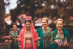 Inside a colourful Indian-Australian wedding