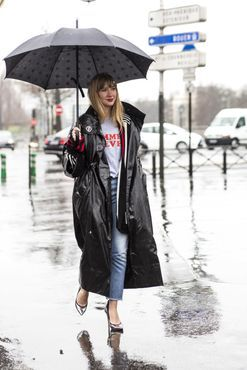 100% humidity: 72 street style inspirations for a wet weather day