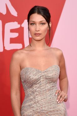 Bella Hadid on why you will never see her smiling on the red carpet