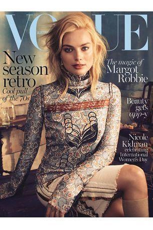First look: Margot Robbie for Vogue Australia March 2015