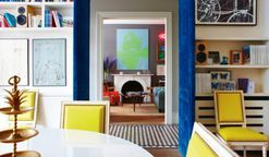 Living rooms with perfect pops of color