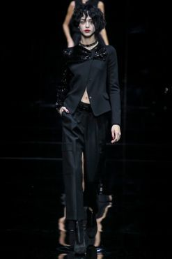 Emporio Armani ready-to-wear autumn/winter '15/'16