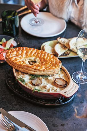 Recipe: Chiswick's fish and prawn pie