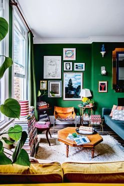 House tour: the colourful home of two young London designers