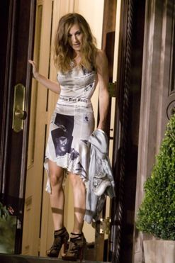 The interesting history behind Carrie's infamous newspaper dress