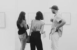 Inside artist Christiane Spangsberg's Sydney exhibit opening