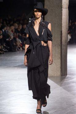 Yohji Yamamoto ready-to-wear spring/summer '18