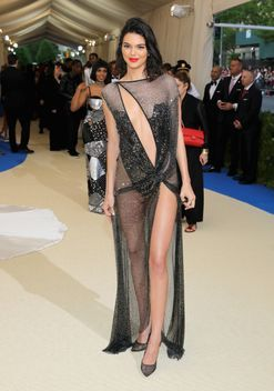 Kendall Jenner is wearing La Perla to the 2017 Met Gala