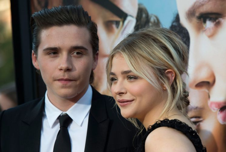 Brooklyn Beckham and Chloë Grace Moretz are officially back on