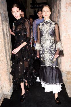 Suzy Menkes at London Fashion Week: day four