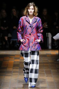 Suzy Menkes at London Fashion Week: day five