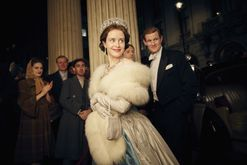 The Crown wedding dress cost $47,000 to make