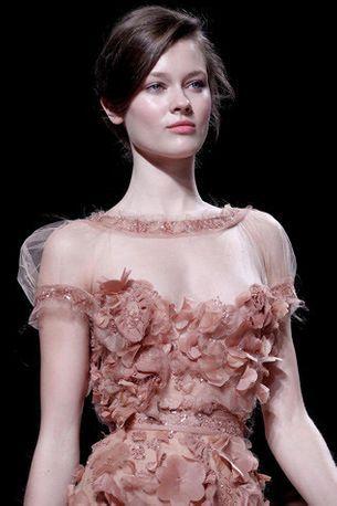 Haute couture inspiration: Elie Saab's blushing brides