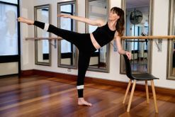Five body-shaping barre moves you can do at home