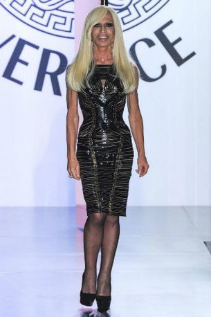 Donatella Versace wears five outfits a day