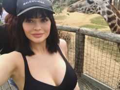 "Kylie Jenner is ""trying out"" veganism"