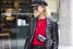 Back to basics: 43 ways to wear a leather jacket